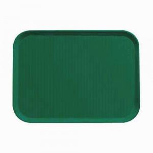 Taca do barów szybkiej obsługi 36x46 cm zielony