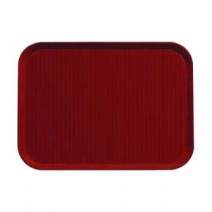 Taca do barów szybkiej obsługi 36x46 cm czerwona