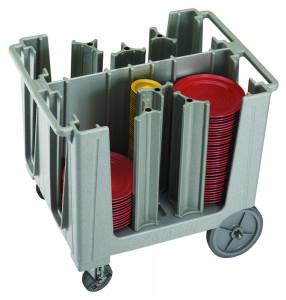 Wózek na talerze regulowany 45-60 talerzy