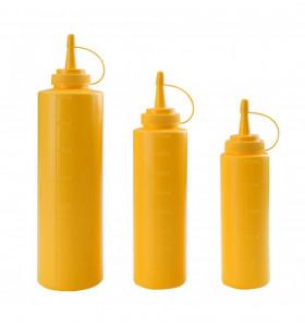 Dyspenser do sosów - żółty 0,25 l