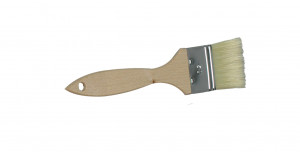 Pędzelek z drewnianą rączką 8 cm