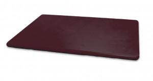Deska kolorowa HACCP PE brązowa
