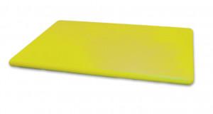 Deska kolorowa HACCP PE żółta