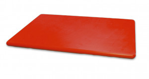 Deska kolorowa HACCP PE czerwona