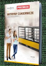 Witryny cukiernicze linia EXCELLENTE C - RAPA 2021