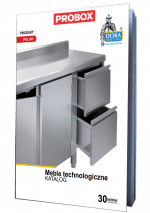 Katalog Meble technologiczne Dora Metal 2021