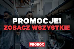 Wszystkie promocje w jednym miejscu! Odkryj najlepsze okazje w PROBOX