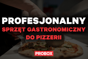 Profesjonalny sprzęt gastronomiczny do pizzerii